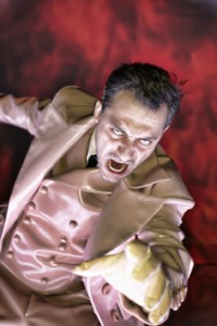 Filippo Timi in una scena de «Il Don Giovanni»