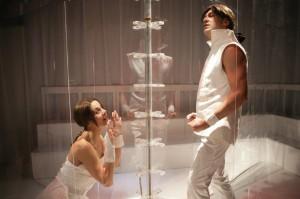 Imma Villa e Paolo Coletta in una scena di «Quartett»