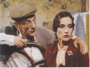 Eduardo e Lina Sastri in «Natale in casa Cupiello»