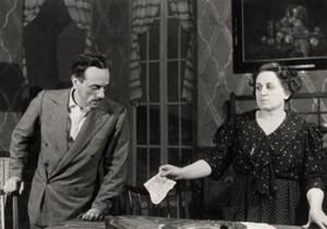 Eduardo e Titina De Filippo in «Filumena Marturano»