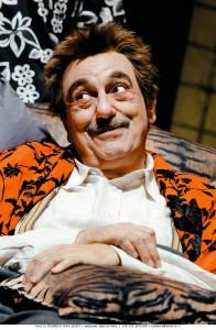 Luca De Filippo in «Sogno di una notte di mezza sbornia»
