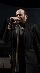 Giovanni Ludeno è Pistola (foto di Mario Spada)