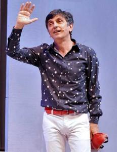 Vincenzo Salemme in «Sogni e bisogni»