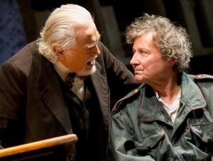 Glauco Mauri e Roberto Sturno in «Una pura formalità»