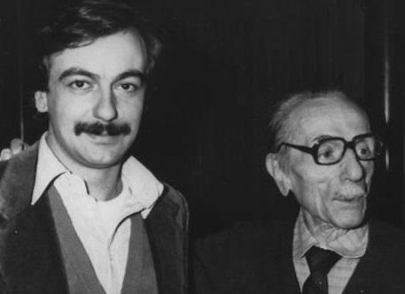 Luca De Filippo con Eduardo