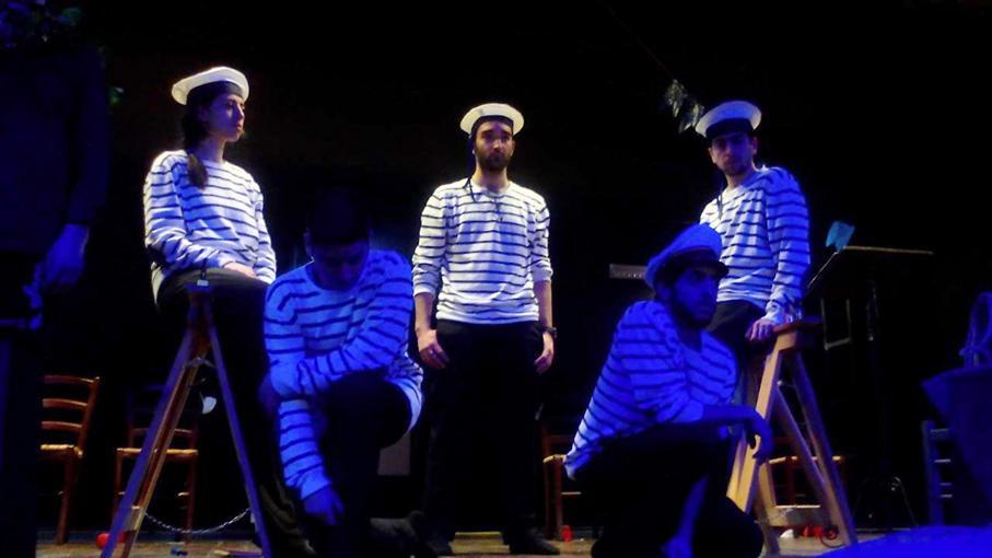 Un momento di «Grand'Estate», lo spettacolo di Enzo Moscato in scena al Nuovo