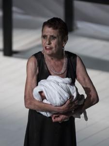 Angela Pagano ne «Le Troiane»