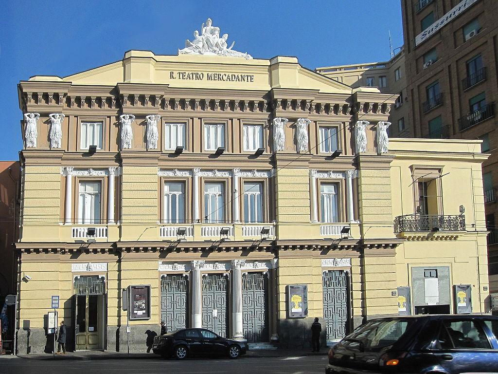 Il Mercadante, sede dello Stabile-Teatro Nazionale di Napoli