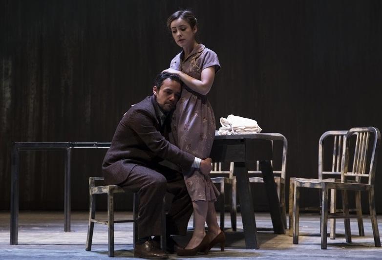 Emiliano Masala e Camilla Semino Favro in un momento di «When the rain stops falling» (le foto che illustrano questo articolo sono di Sveva Bellucci)