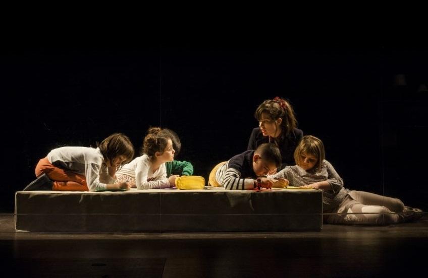 Un momento di «Cine», presentato nell'ambito del Festival Internazionale del Teatro di Lugano (la foto è di Mario Zamora)