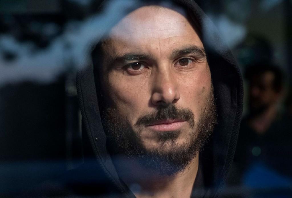 Francesco Di Leva, protagonista del film di Martone nel ruolo di Antonio Barracano (le foto che illustrano questo articolo sono di Mario Spada)