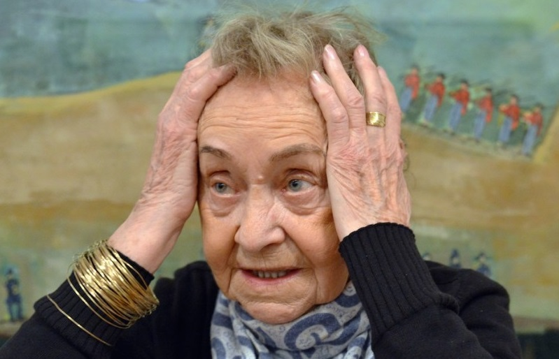 Maria Stangret in una foto della Galleria Szydlowski